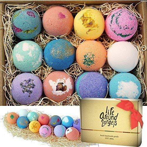 LifeAround2Angels Bath Bombs Gift Set 12 USA made...