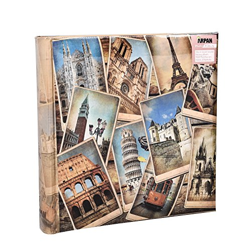 Arpan 10 x 15 cm-Voyage Memories Album Photo pour 200 Photos 6 x 4
