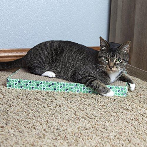 Kitty City XL Wide Corrugate Cat Scratchers 3 Pieces, Cat Scratching, Cat Scratch Pad