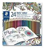 Staedtler 185 C24JB ST Noris Set de 24 Crayons de couleur avec mine ultra...