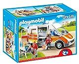 Playmobil - 6685 - Ambulance avec gyrophare et sirène