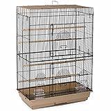 Prevue Pet Products SP42614-4 Flight Cage, Brown/Black