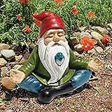 Design Toscano Gartenzwerg Zen, Maße: 24 x 12.5 x 20.5 cm 0.5 kg - 7
