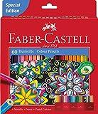 Faber-Castell 10008546 Lot de 60 Crayons Couleur Château Accordéon 3,8 mm