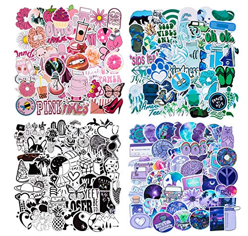 Mixed Cute VSCO Stickers, Waterproof Vinyl Stickers for...