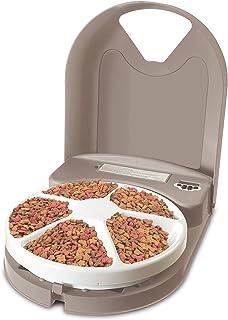 PetSafe Dog and Cat Food Dispenser, 5 Meal with Digital Clock or 2 Meal Tamper Resistant..