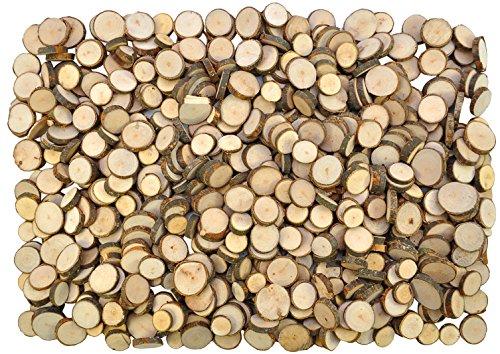 Eduplay Naturholzscheiben zum basteln 1000g