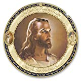 The Bradford Exchange Warner Sallman Jesus Portrait Porcelain Collector Plate