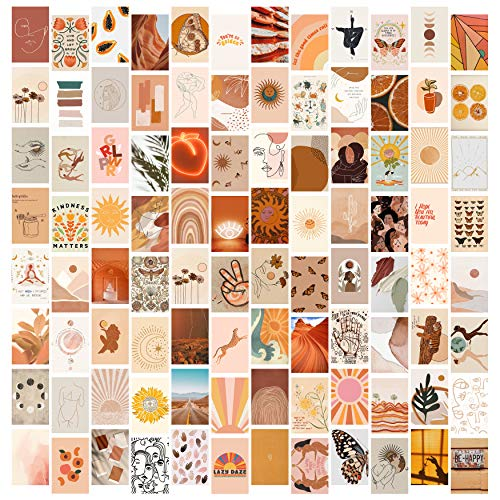 DMHG Boho Aesthetic Photo Collage Kit for Wall Aesthetic , 100...