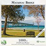 "MICHIGAN PHOTOGRAPHER - Phil Stagg, a Michigan native, shares his passion for vibrant landscapes, natural beauty, and iconic Michigan landmarks in this stunning photograph GENEROUS SIZE - 1000 Piece jigsaw puzzle measures 27"" x 20"" when finished Made..."