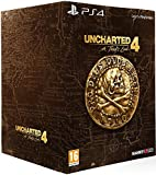 Contenu : Le jeu Uncharted 4: A Thief's End Un Steelbook Un art-book Des stickers Naughty Dog & Pirate Sigil Contenu digital : des points Naughty Dog: utilisez ces points pour débloquer du contenu multijoueur et des upgrades de personnages