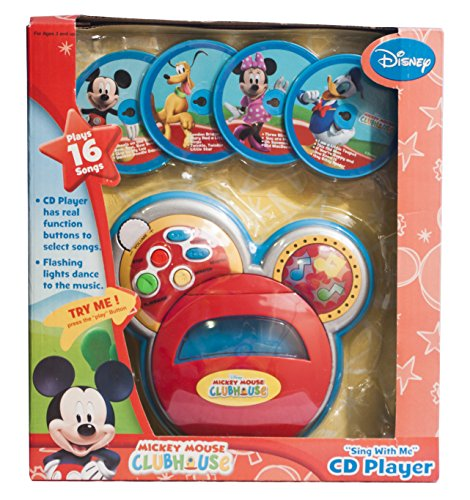 Disney Mickey Mouse Clubhouse 'Sing with Me' CD Player