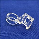 YEQIN Low Shank Clarity Clear Ruler Patchwork Sewing Presser Foot 1/4' Quilting Fits Singer,Brother,Janome New Home,Elna,Viking,White,Toyota,Pfaff.etc