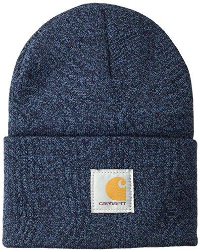 Carhartt Watch Hat Berretto Beanie, Dark Blue/Navy, OFA Unisex-Adulto
