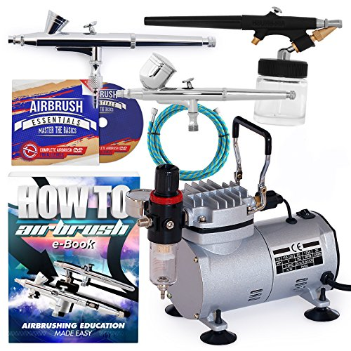 61LG12JHduL - The 7 Best Airbrush Kits for the Avid Artist