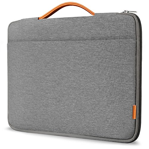 Inateck 13-13.3 Inch Sleeve Case Briefcase Cover Protective Bag Ultrabook Netbook Carrying Protector Handbag Compatible 13' MacBook Air/MacBook Pro(Retina) 2012-2015, 2018/2017/2016 Dark Gray