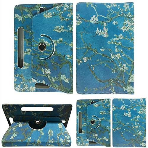7inch Tablet Case Cover - Colourful Stuff Custodia universale per tablet in ecopelle, con supporto,...