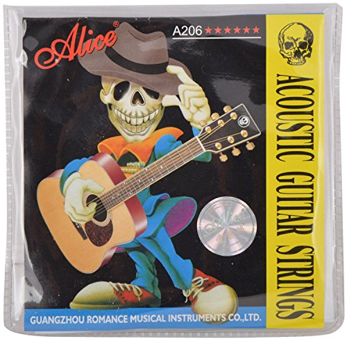 Alice Bronze Acoustic Guitar Strings _ (Pack of 1)