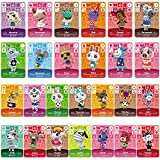 TPLGO Cartes de Jeu NFC Tag pour Animal Crossing, 24 pièces Cartes de Jeu NFC avec étui...