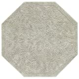 Mohawk Home Foliage Sage Octagon Accent Rug, 4'x4'