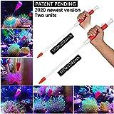 Aquarium Choice Coral Feeder Long Syringe Tube 2020 Newest Version 58CM/22.83Inch Length Two Units