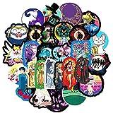 TTBH Pegatinas de Anime para refrigerador, Casco de Coche, Caja de Regalo DIY, Bicicleta, Guitarra, Cuaderno, baúl de Skate, etc.