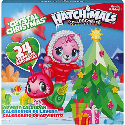 HATCHIMALS, Calendario dell'avvento CollEGGtibles con Personaggi esclusivi e Accessori di Carta, per Bambini dai 5 Anni in su, Multicolore, 6044284