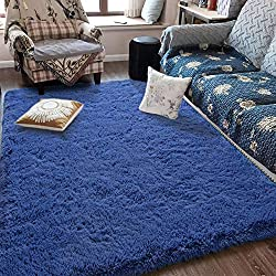 Fluffy Soft Kids Room Rug Baby Nursery Décor