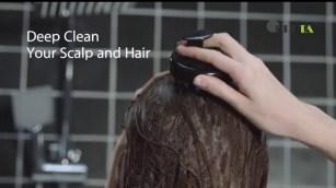 Hair Shampoo Brush, Heeta Scalp Care Brush Soft Silicone Massager