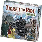 Asmodee - Ticket to Ride Europe, 8 años y más, edición italiana, 8500