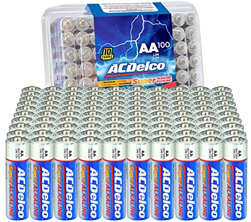 ACDelco AA Super Alkaline Batteries in Recloseable Package