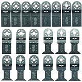20 x TopsTools UNK20 Mix Lames pour Bosch, Fein Multimaster, Multitalent,...