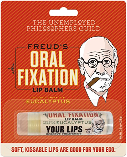 Sigmund Freud's Oral Fixation Lip Balm - Made in The USA