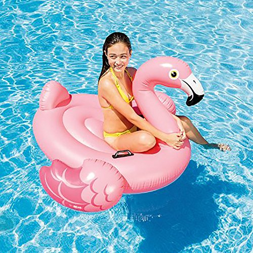 Intex Flamingo Inflatable Ride-On, 56' X 54' X 38', for Ages 14+