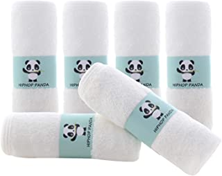 Bamboo Baby Washcloths – Hypoallergenic 2 Layer Ultra Soft Absorbent Bamboo Towel..