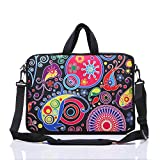 10-Inch Laptop Shoulder Sleeve Case and Tablet Bag for most 9.7' 10' 10.1' 10.2' Ipad/Notebook/eBook/Readers (classic colourful)