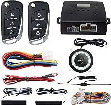 EASYGUARD EC003N-V-1 PKE Passive Keyless Entry Car Alarm System Push Start Button Remote..