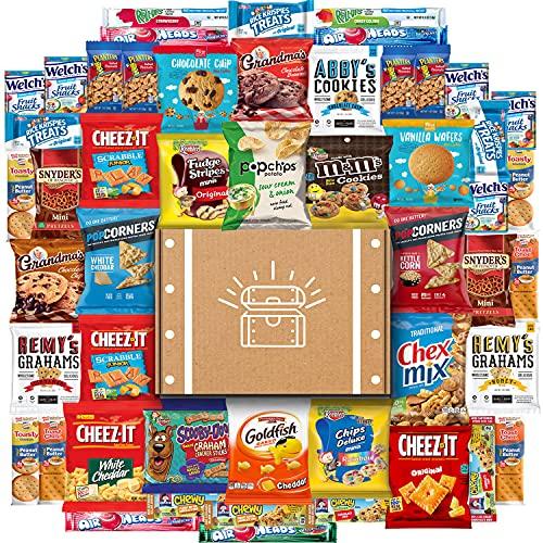 Cookies, Chips & Candies Ultimate Snacks Care Package Bulk...