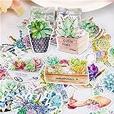 BLOUR 32 uds/Venta de Plantas suculentas Pegatinas de papelería Paquete Post It Kawaii planificadorDIY Scrapbooking Memo útilesEscolares