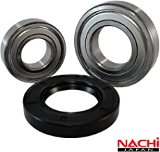 Front Load Bearings Washer Tub Bearing and Seal Kit with Nachi bearings, Fits Kenmore and..
