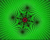 Kpoiuy Lienzo De Bricolaje Regalo De Pintura Al óLeo para Adultos NiñOs Pintura por NúMero Kits Decoraciones para El Hogar - Verde Negro Azul Rojo Girando 16 * 20 Pulgadas Sin Marco
