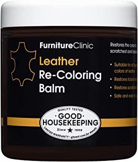 Furniture Clinic Leather Recoloring Balm (8.5 fl oz) – Leather Color Restorer for..
