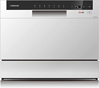 Farberware Professional FCD06ABBWHA Compact Portable Countertop Dishwasher with 6 Place..