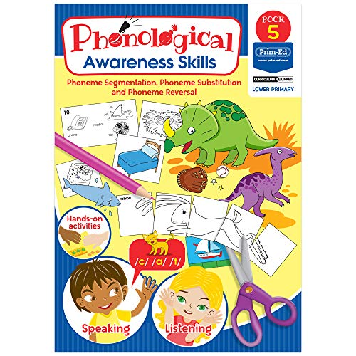 Phonological Awareness - Phoneme Segmentation, Phoneme Substitution and Phoneme Reversal: Book 5 (Phonological Awareness Skills)