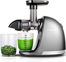Slow Masticating Juicer, AMZCHEF Slow Juicer Extractor Professional Machine, Cold Press..