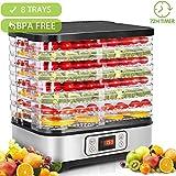 Hopekings Déshydrateur Alimentaire 8 Plateaux, Déshydrateur Fruits et...