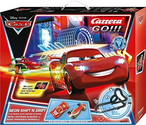 Carrera GO!!! 62332 Disney/Pixar Cars Neon Shift'n Drift