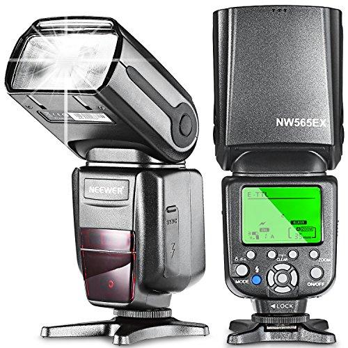 Neewer NW-565EX-C-TTLSlave Flash Speedlite con Flash Diffusore per Canon e altri Modelli Canon DSLR
