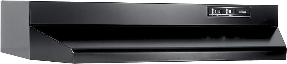 Broan-NuTone 403023 B000UW02A6 ADA Capable Under-Cabinet Range Hood, 30-Inch, Black