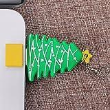 Non-brand USB Flash Drive Memory Stick Thumb Almacenamiento Pendrive rbol de Navidad - Verde-32gb